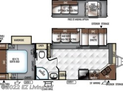 New 2018  Forest River Flagstaff 26FKWS by Forest River from EZ Living RV in Braidwood, IL