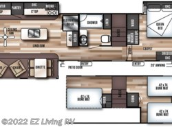New 2018  Forest River Salem Grand Villa 42DL by Forest River from EZ Living RV in Braidwood, IL