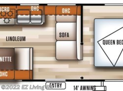 New 2018  Forest River Salem Cruise Lite T241QBXL by Forest River from EZ Living RV in Braidwood, IL