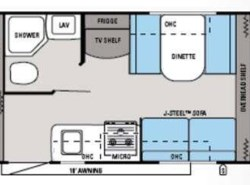 Used 2014  Jayco Jay Feather Ultra Lite X17Z by Jayco from Fretz  RV in Souderton, PA