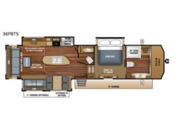 Used 2018  Jayco Pinnacle 36FBTS by Jayco from Fretz  RV in Souderton, PA