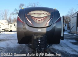 New 2017  Forest River Wildwood Heritage Glen 312QBUD by Forest River from Gansen Auto & RV Sales, Inc. in Riceville, IA