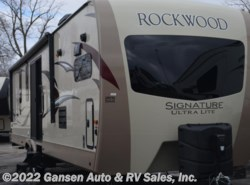 New 2017  Forest River Rockwood Signature Ultra Lite 8335BSS by Forest River from Gansen Auto & RV Sales, Inc. in Riceville, IA