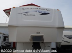 Used 2009  Coachmen Chaparral 340QBS by Coachmen from Gansen Auto & RV Sales, Inc. in Riceville, IA