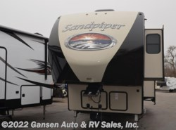 New 2018  Forest River Sandpiper 367DSOK by Forest River from Gansen Auto & RV Sales, Inc. in Riceville, IA