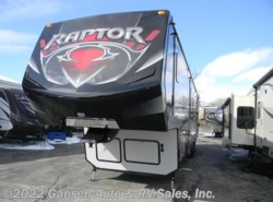 Used 2015  Keystone Raptor 395LEV by Keystone from Gansen Auto & RV Sales, Inc. in Riceville, IA