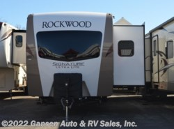 New 2018  Forest River Rockwood Signature Ultra Lite 8329SS by Forest River from Gansen Auto & RV Sales, Inc. in Riceville, IA