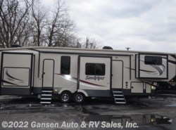 New 2018  Forest River Sandpiper 38FKOK by Forest River from Gansen Auto & RV Sales, Inc. in Riceville, IA