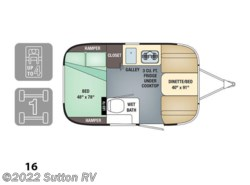 New 2017  Airstream Sport 16 by Airstream from George Sutton RV in Eugene, OR