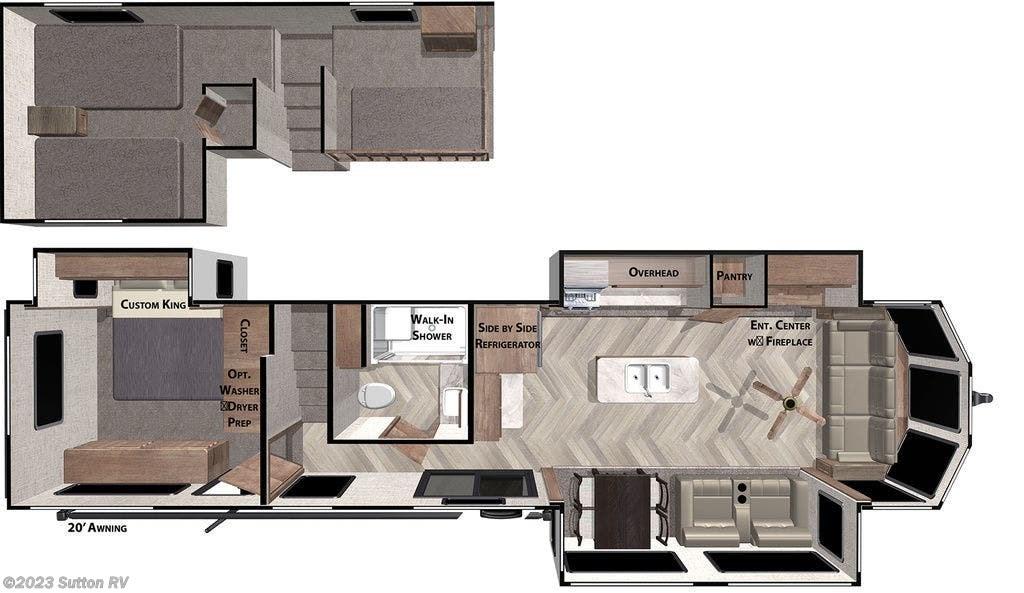 2021 Forest River Wildwood Lodge 42FLDL