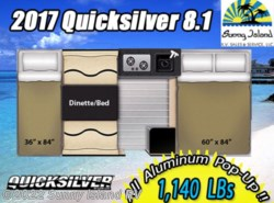 New 2017  Livin' Lite Quicksilver  8.1 by Livin' Lite from Sunny Island RV in Rockford, IL