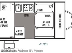 Used 2014  Forest River Rockwood Hard Side Series A122S by Forest River from AC Nelsen RV World in Omaha, NE