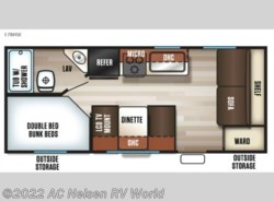 New 2018  Forest River Cherokee Grey Wolf 17BHSE by Forest River from AC Nelsen RV World in Omaha, NE