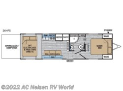 New 2018  Forest River XLR Hyper Lite 26HFS by Forest River from AC Nelsen RV World in Omaha, NE