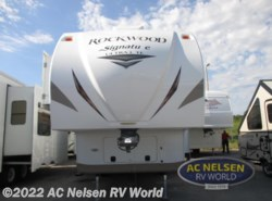 Used 2016  Forest River Rockwood Signature Ultra Lite 8289WS by Forest River from AC Nelsen RV World in Omaha, NE