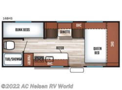 New 2018  Forest River  Patriot Edition Library - 26DBHCE by Forest River from AC Nelsen RV World in Omaha, NE