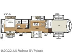 New 2018  Forest River Sandpiper 379FLOK by Forest River from AC Nelsen RV World in Omaha, NE