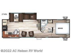 New 2018  Forest River Cherokee 274RK by Forest River from AC Nelsen RV World in Omaha, NE