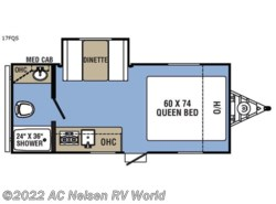 New 2018  Coachmen Clipper Ultra-Lite 17FQS by Coachmen from AC Nelsen RV World in Omaha, NE