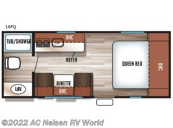 New 2018  Forest River  Patriot Edition 16FQ by Forest River from AC Nelsen RV World in Omaha, NE