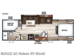 New 2018  Forest River  Patriot Edition 26DBH by Forest River from AC Nelsen RV World in Omaha, NE