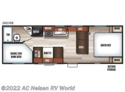 New 2018  Forest River  Patriot Edition 26DJSE by Forest River from AC Nelsen RV World in Omaha, NE