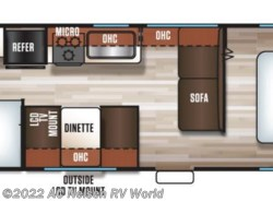 New 2018  Forest River Cherokee Grey Wolf 26BH by Forest River from AC Nelsen RV World in Omaha, NE