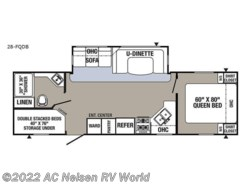 New 2018  Palomino Puma 28-FQDB by Palomino from AC Nelsen RV World in Omaha, NE