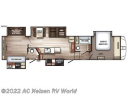 New 2019  Forest River Sabre 36FRP by Forest River from AC Nelsen RV World in Omaha, NE