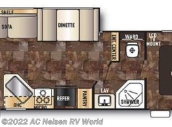 Used 2014  Forest River Cherokee Grey Wolf 26RL by Forest River from AC Nelsen RV World in Omaha, NE