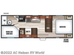 New 2019  Forest River  Patriot Edition 26DJSE by Forest River from AC Nelsen RV World in Omaha, NE