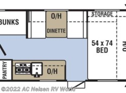 New 2019  Coachmen Clipper Cadet 17CBH by Coachmen from AC Nelsen RV World in Omaha, NE