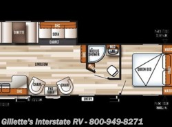New 2018  Forest River Salem 27RKSS by Forest River from Gillette's Interstate RV, Inc. in East Lansing, MI