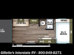 New 2018  Forest River Salem FSX 180RT by Forest River from Gillette's RV in East Lansing, MI