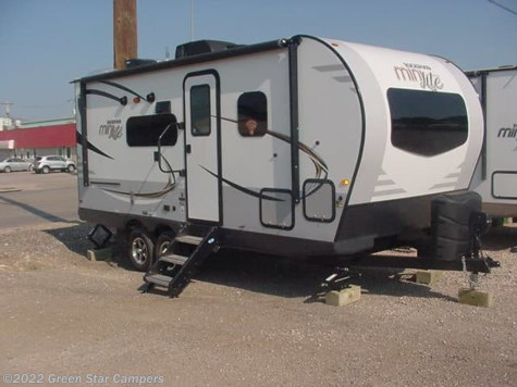 2019 Forest River Rockwood Mini Lite 2104S Front Murphy Bed