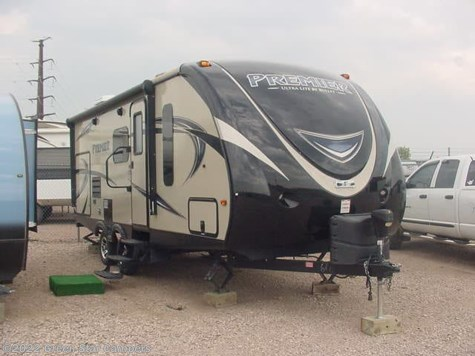 2017 Keystone Premier Ultra Lite 22RBPR Rear Bathroom