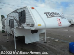 New 2018  Travel Lite Truck Campers 800 Series - Marine Toilet - Sofa Sleeper by Travel Lite from HW Motor Homes, Inc. in Canton, MI