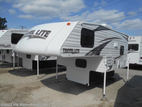 2018 Travel Lite Truck Campers 800 X - Marine Toilet -  Dinette  Sleeper