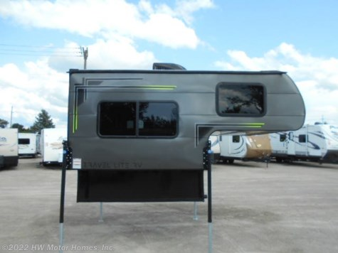 2019 Travel Lite Truck Campers Super  Lite  700 - Sofa - CHARCOAL