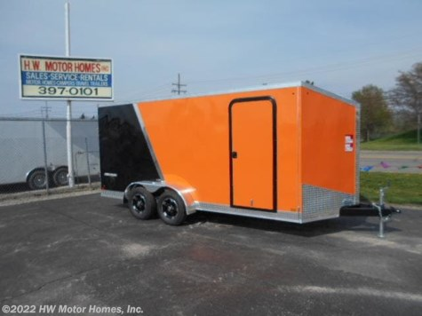 2019 Impact Trailers Shockwave 716 - Two  Tone -  6 ' 6