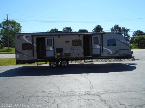 2014 Dutchmen Kodiak Ultimate 2 9 2  TQB - Toy Hauler - Slide