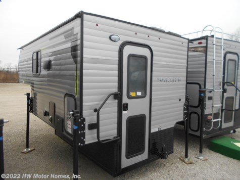 2019 Travel Lite Truck Campers 770RSL  Greyhound Silver