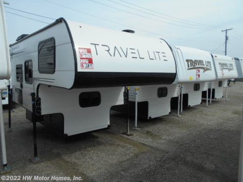 2019 Travel Lite Truck Campers 770 RSL - Shower Inside