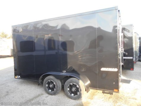2019 Impact Trailers Tremor 714  Black-Out Pkg.  7' tall