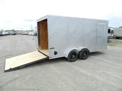 2021 Impact Trailers - QUAKE  716 Ramp  7' Tall Int.