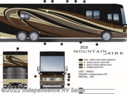 New 2018  Newmar Mountain Aire 4047 by Newmar from Independence RV Sales in Winter Garden, FL