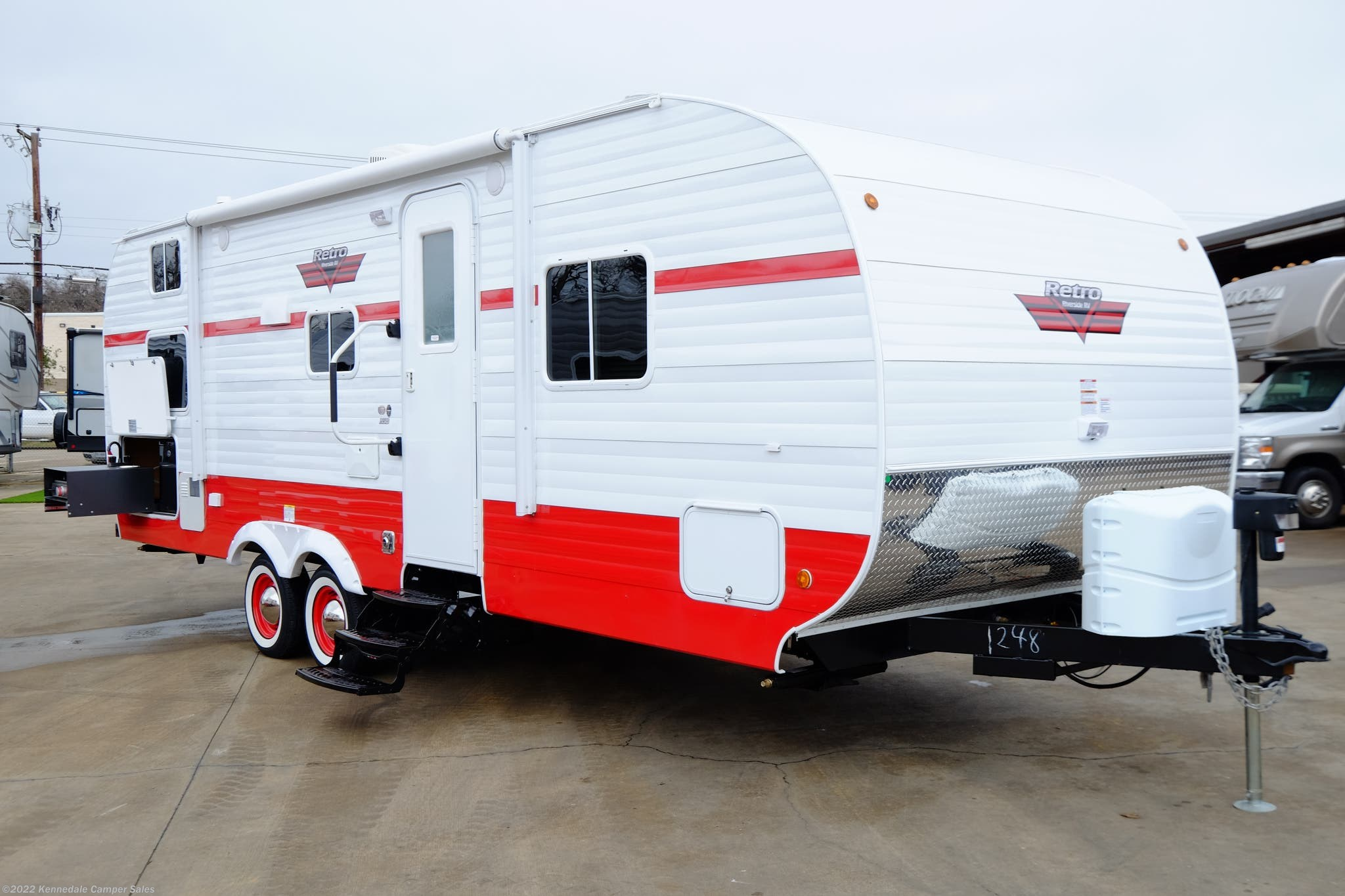 2019 Riverside RV RV Retro 265RB DISCOUNT 34% for Sale in Kennedale, TX  76060 | 001248