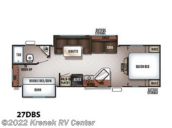 New 2018  Forest River Cherokee Grey Wolf 27DBS by Forest River from Krenek RV Center in Coloma, MI