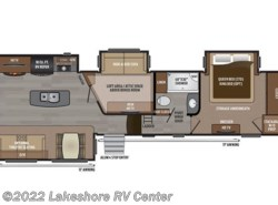 New 2017  Keystone Montana 3950BR by Keystone from Lakeshore RV Center in Muskegon, MI
