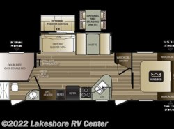New 2018  Keystone Cougar XLite 29BHS by Keystone from Lakeshore RV Center in Muskegon, MI